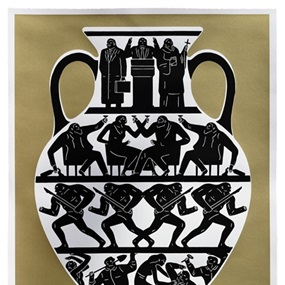 Trump 2017 (Gold) by Cleon Peterson