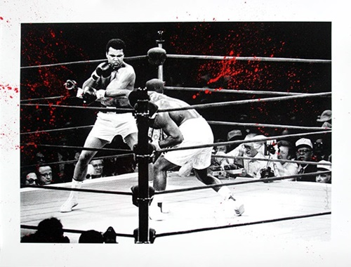 Majestic Ali (Red) by Mr Brainwash