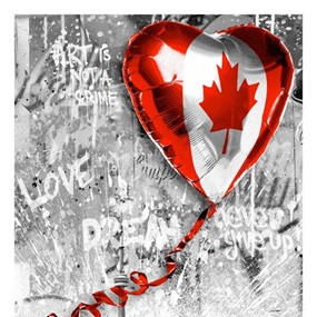 We Love Canada by Mr Brainwash