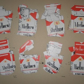 Marlboro (Brown Paper) by Evan Hecox