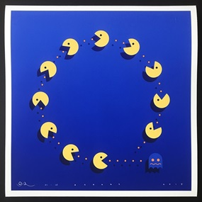 Pac-Man Brexit by Otto Schade