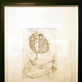 Etching #1 by Blu