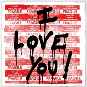I Love You by Mr Brainwash