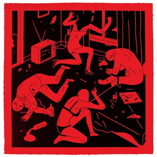 Junky (Red) by Cleon Peterson
