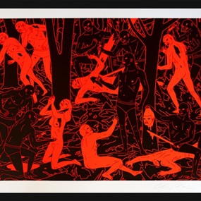 In Nature Is Dominance (Neon) by Cleon Peterson