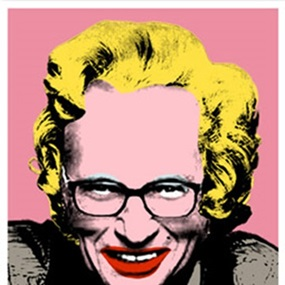 Larry King by Mr Brainwash