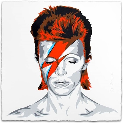 Bowie (Second Edition) by Mr Brainwash