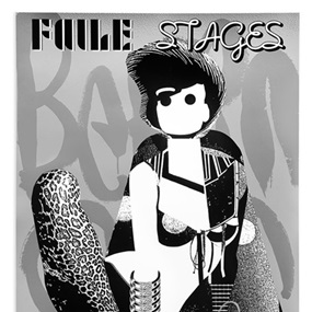 Faile Stages (Show Poster) (First Edition) by Faile