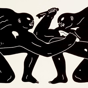 Balance Of Power (Black) by Cleon Peterson
