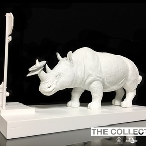 The Collector (Sculpture) by Josh Keyes