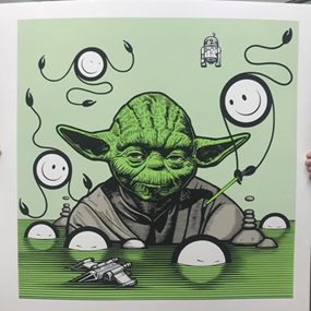 Yoda At Sea by The London Police