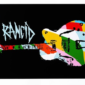 Nine Color Guitar by Tim Armstrong