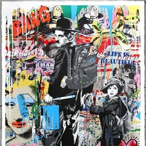 Just Kidding by Mr Brainwash
