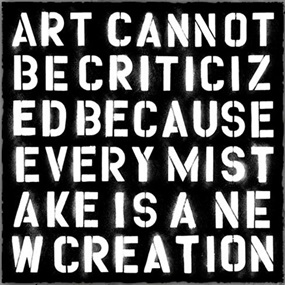 Keep Creating by Mr Brainwash