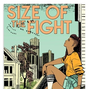 The Size Of The Fight by Faile