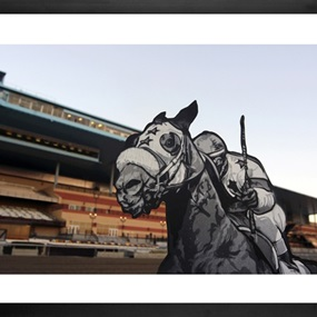 Saturday At The Races: Aqueduct, NYC (First Edition) by Joe Iurato