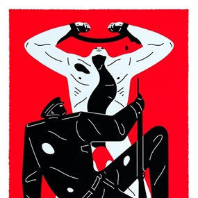 The Collaborator (Red) by Cleon Peterson