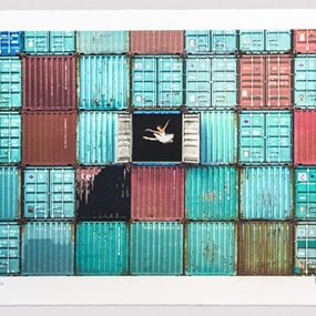 The Ballerina Jumping In Containers, Le Havre, France, 2014 (First Edition) by JR