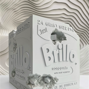 Eroded Brillo Box (First Edition) by Daniel Arsham