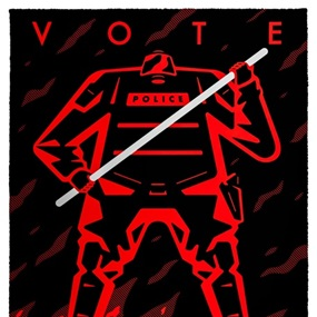 Vote (I) by Cleon Peterson