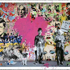 Juxtapose by Mr Brainwash