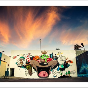 Holiday Mural 2011 by Dabs Myla