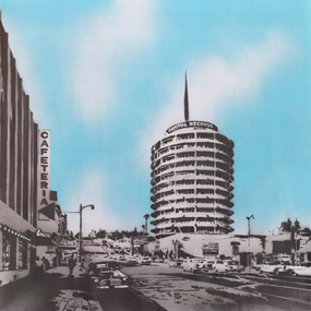 Capitol Records Tower (First Edition) by Nick Walker