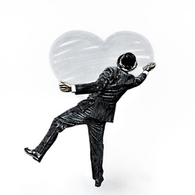 Heart (Silver) by Nick Walker