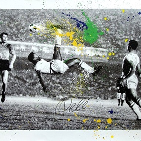 The King Pele - Bicycle by Mr Brainwash