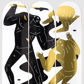 The Crawler (Skate Decks) by Cleon Peterson