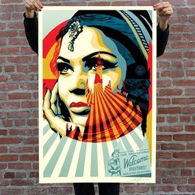Target Exceptions (Signed Offset) by Shepard Fairey
