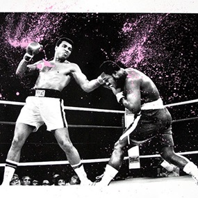 Grand Ali (Pink) by Mr Brainwash