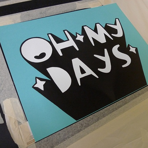 Oh My Days First Edition By Kid Acne Editioned Artwork Art Collectorz