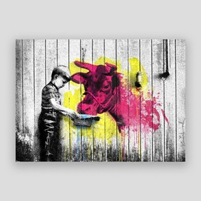 You Get What You Give by Mr Brainwash