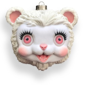 Snow Yak Ornament by Mark Ryden