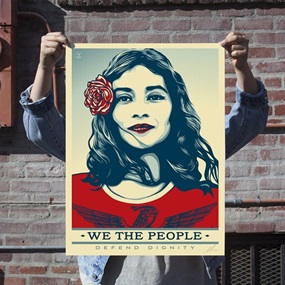 Defend Dignity (Standard Edition) by Shepard Fairey