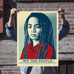 Protect Each Other (Standard Edition) by Shepard Fairey