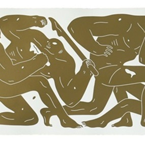 The Return (Gold) by Cleon Peterson