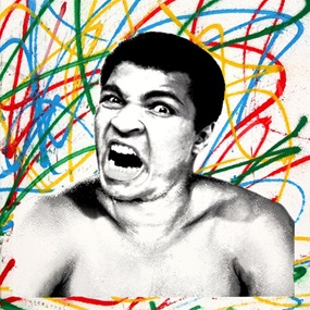 Legendary Ali by Mr Brainwash